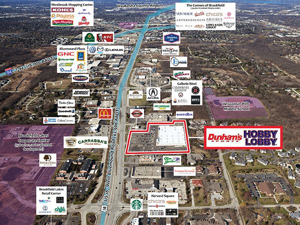 Leased Investment Property For Sale Hobby Lobby Dunhams Sports - Hobby lobby us map