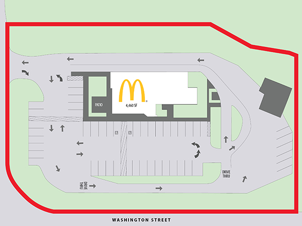 McDonald's - Grafton, WI - Site Plan