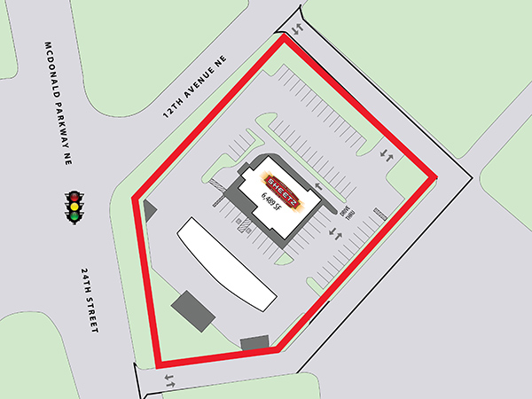 Sheetz - Hickory, NC - Site Plan