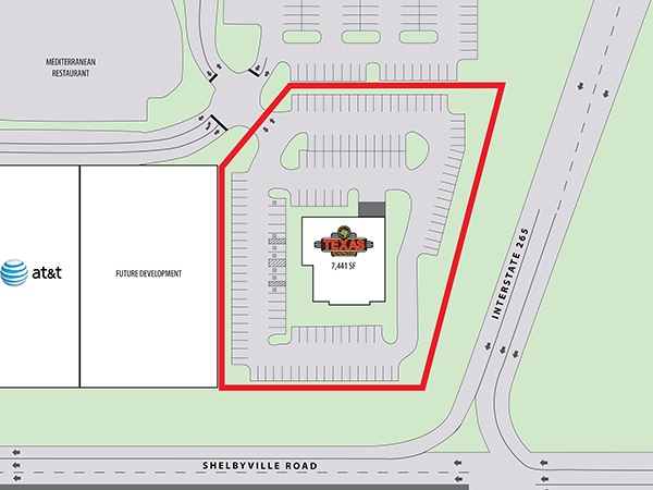 Texas Roadhouse - Louisville, KY - Site Plan