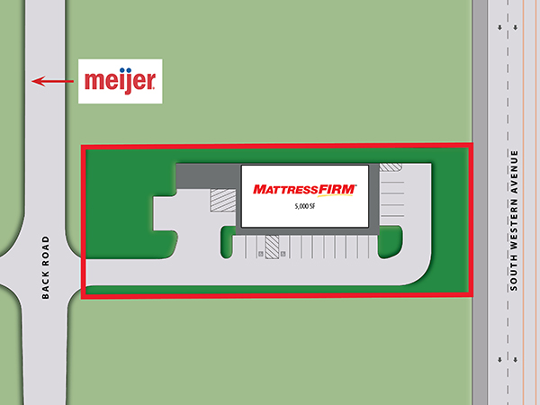 Mattress Firm - Marion, IN Site Plan