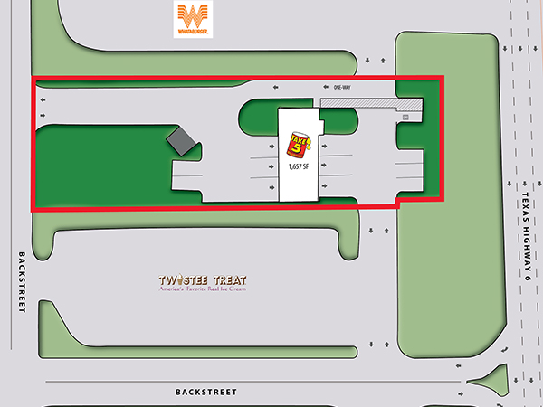 Take 5 Oil - Houston, TX Site Plan