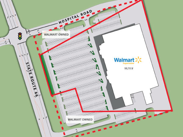 Net Leased Investment Property For Sale | Walmart Supercenter | Indiana