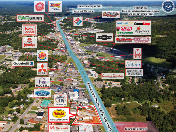 Net Leased Investment for Sale | Bojangles' | Kentucky