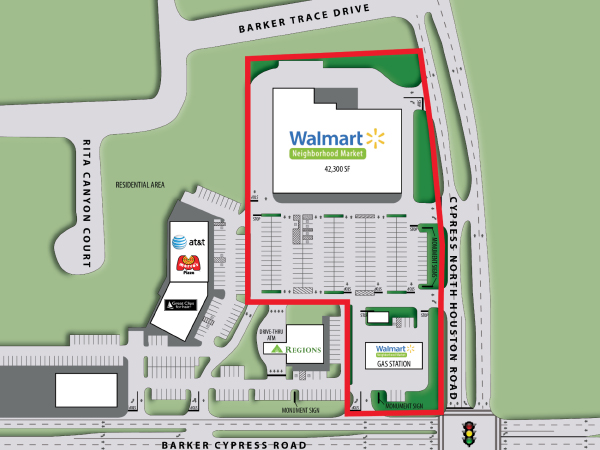 Net Leased Investment For Sale Walmart Neighborhood Market Texas